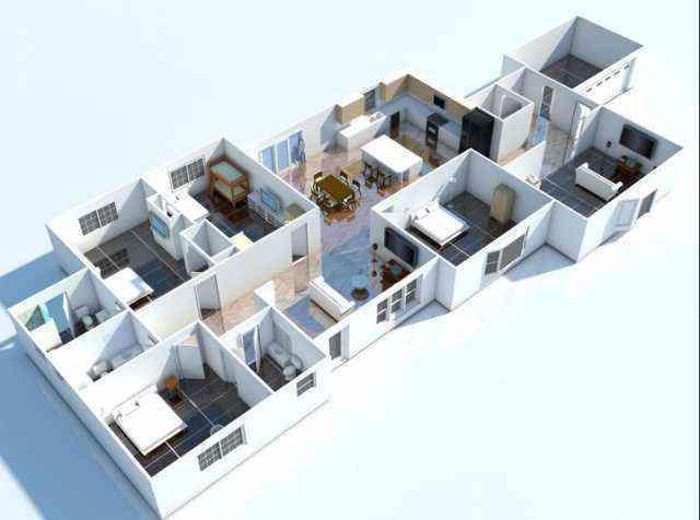 3d Home Floor Plan Ideas Screenshot