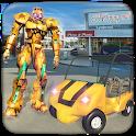 US Robot Shopping Mall Car Taxi Driver icon