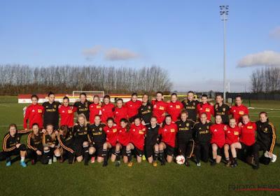 Yellow Flames op bezoek bij de Red Flames voor ontspannen training