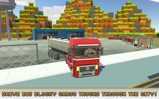 Blocky Truck Simulator 2018 1.5 {cheat|hack|gameplay|apk mod|resources generator} 1