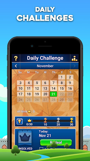 Castle Solitaire screenshot 3