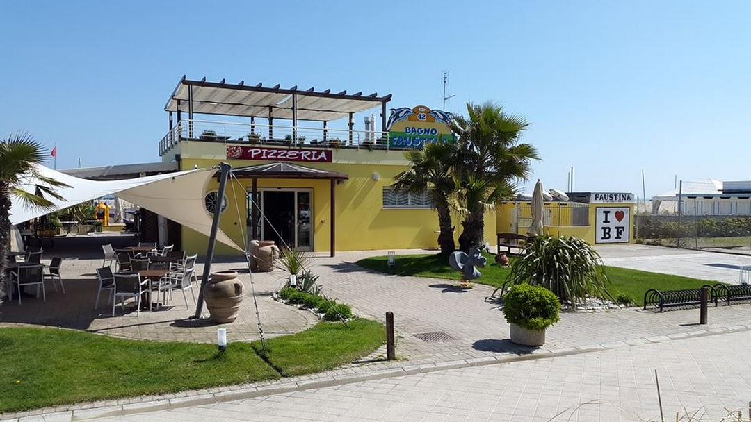 Bagno faustina 42 stabilimento balneare a cesenatico ristorante
