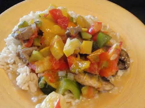 """Caribbean Stew """"This is my own recipe that I dreamed up out..."""
