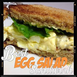 The BEST Egg Salad Sandwich.