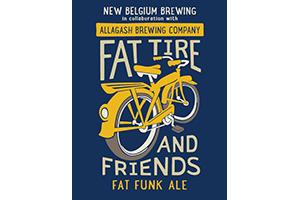 Logo of New Belgium / Allagash Fat Funk Ale