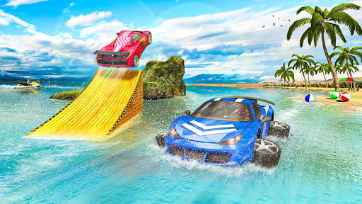 Water Surfer car Floating Beach Drive  screenshots 4