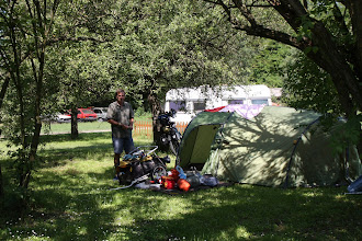 Photo: Day 67 - The Campsite Naturo at Acs (Rog with Hangover!)