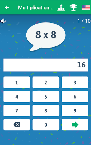 Multiplication Tables - Free Math Game android2mod screenshots 7