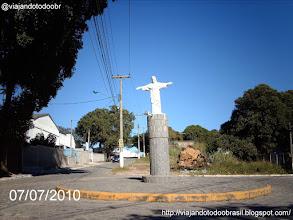 Photo: Araruama - Imagem em homenagem ao Cristo Redentor