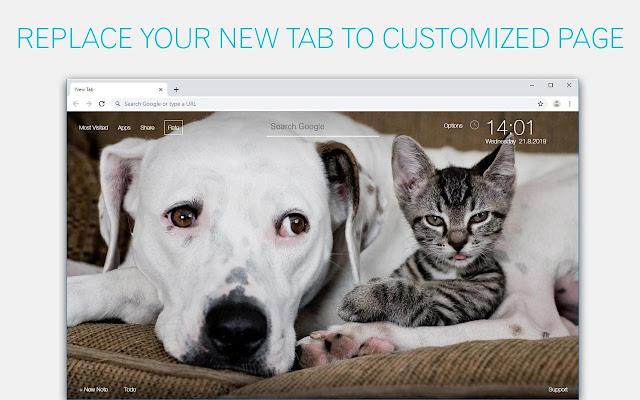 Cats & Dogs Wallpaper HD Cat vs Dog Themes