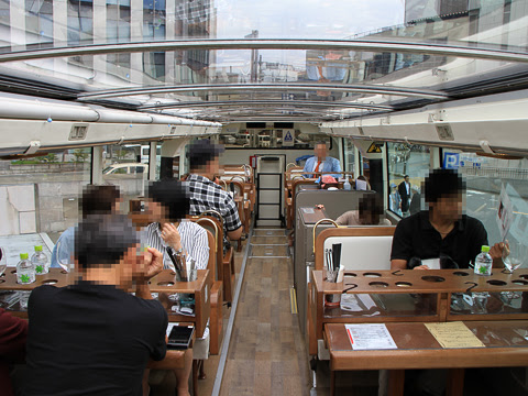WILLER(網走バス)「レストランバス」 8888_06 2階車内_01