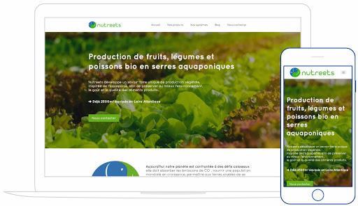 création de site responsive design