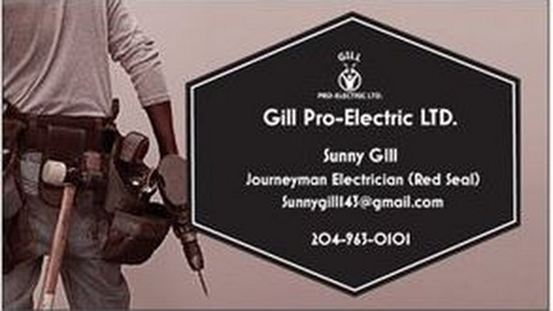GILL PRO-ELECTRIC LTD  - Electrician