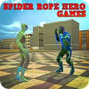 Spider Rope Hero Games
