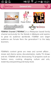 FeminaTV- screenshot thumbnail