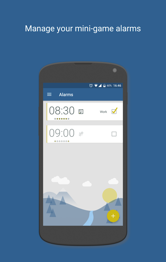 Wake Up Alarm- screenshot