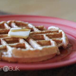 Whole Wheat Waffles - An Easy Breakfast