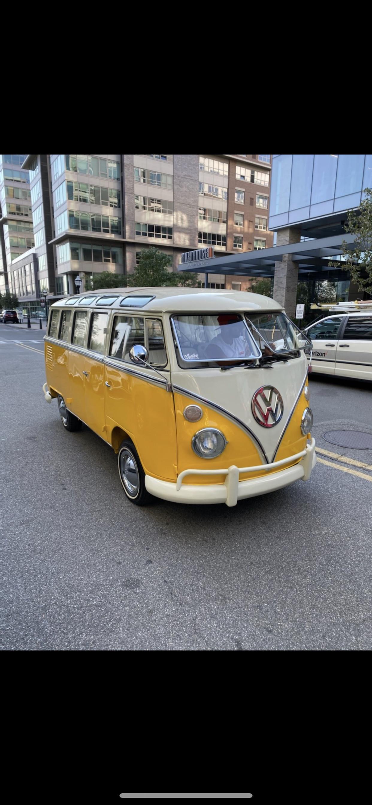 Volkswagen Split Window Bus Hire Hoboken