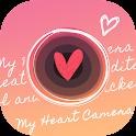My Heart Camera - cute photo icon