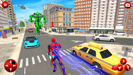 Superhero Robot Speed Hero apkpoly screenshots 5