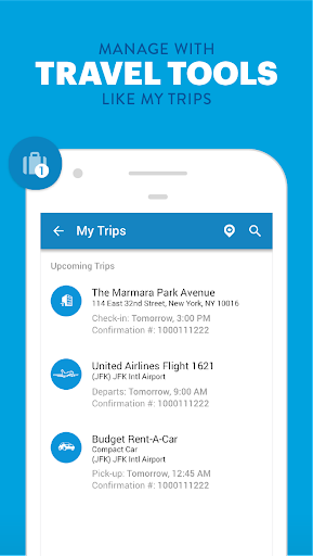 Priceline Hotel Deals, Rental Cars & Flights Screenshot