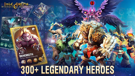 Idle Arena: Evolution Legends screenshots 1