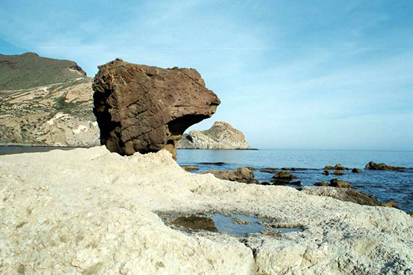 Parque Natural Cabo de Gata-Níjar, cala Higuera.