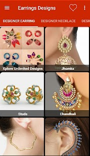 Earrings Jewellery Design 2017 - náhled