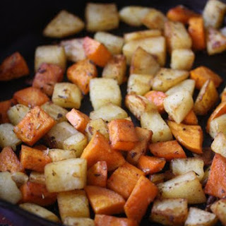 Skillet Home Fries with Herbs de Provence.
