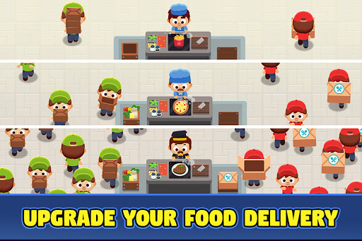 Food Delivery Tycoon - Idle Food Manager Simulator 1.1.2 screenshots 5