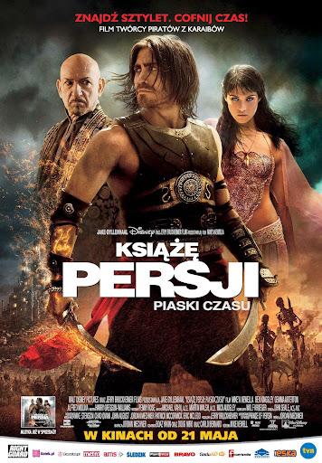Polski plakat filmu 'Książę Persji: Piaski Czasu'