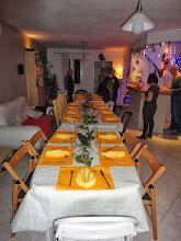 Photo: Et une très jolie table...