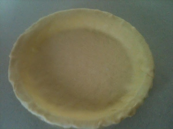 """Make Pie Crust as directed on box for two crust pie, using 9"""" pie..."""