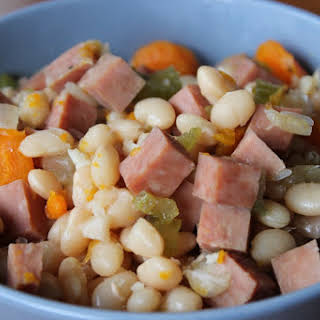 Navy Bean and Ham Soup.