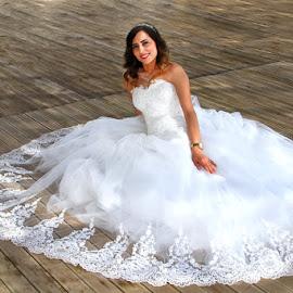 by Necdet Yaşar - Wedding Bride ( girl, bride, portrait )