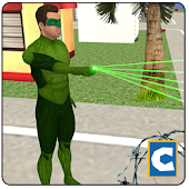 Green Ring Hero Crimen Batalla