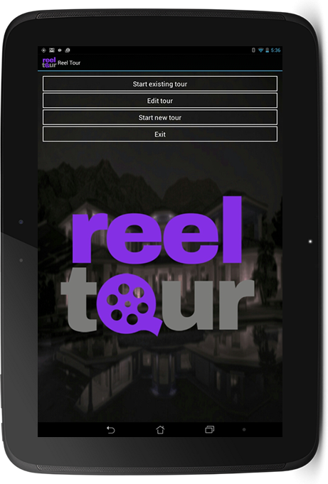 ReelTour App- screenshot