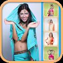 Indian Saree - Make up Face icon