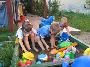 Photo: délutáni játszás vendégségben