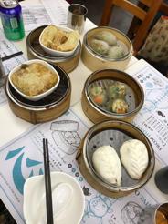 Vegan dim sum from Dim Dim Sum, Hong Kong