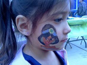 Photo: Princess cheek art by Teressa, Newport Beach, Ca.Call to booked Teressa for your next event: 888-750-7024