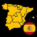 Regiones de España: Banderas, Capitales y Mapas icon