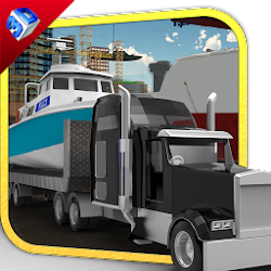 Boat Transporter Truck Driver