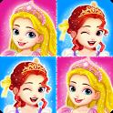 Princess memory game for girls icon