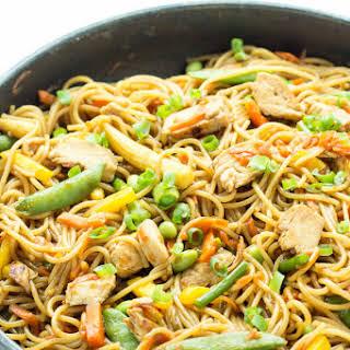 One Pot Chicken Chow Mein.