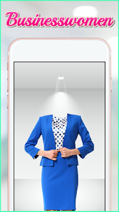 Businesswomen Formal Suit Photo Montage - náhled