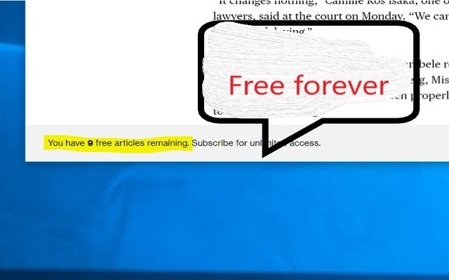 Get more free articles