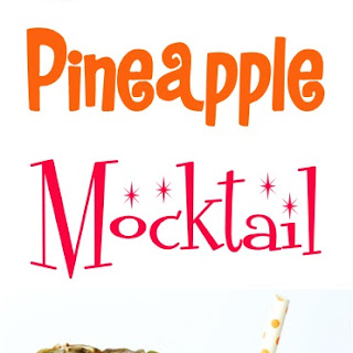 Sparkling Pineapple Mocktail