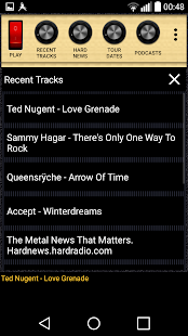 Heavy Metal Hard Rock Radio- screenshot thumbnail