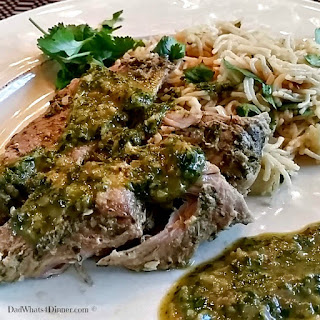 Slow Cooker Pork Chimichurri.
